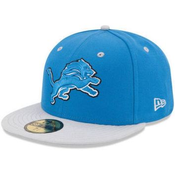 DCCKG8Q NFL Detroit Lions 2Tone 59Fifty Fitted Hat