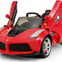 Ferrari Spider 12V Ride-On Vehicle With R/C Parental Remote