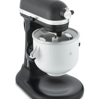 KitchenAid Stand Mixer Ice Cream Maker Attachment
