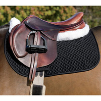 Rider's Extra-Long Contoured Saddle Pad | Dover Saddlery