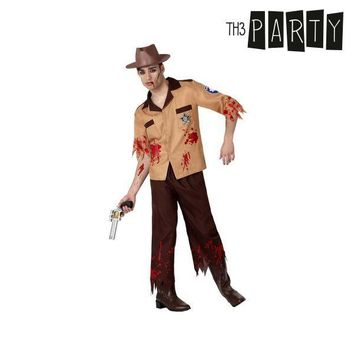 Costume for Adults Th3 Party Zombie police officer