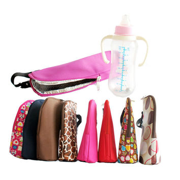 Baby Bottle Warmer Portable  newborn Feeding bottle Thermo Bag  Stroller Bags tourism thermos support cooler bag 8 colors