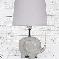 Elephant Lamp UK Plug in Grey - Urban Outfitters