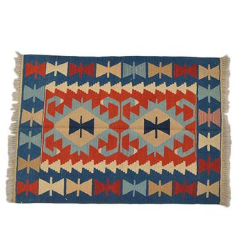 "Turkish Kilim Turkish 2' 9"" X 3' 11"" Handmade Rug"