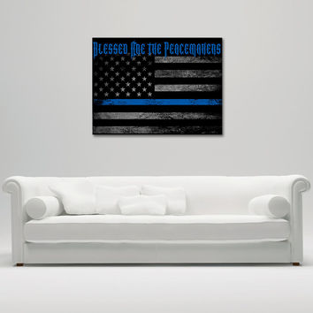 Blessed Are The Peacemakers Canvas