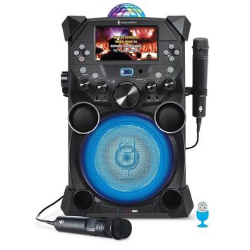 Singing Machine SDL9039 Fiesta Plus Hi-Def Karaoke System