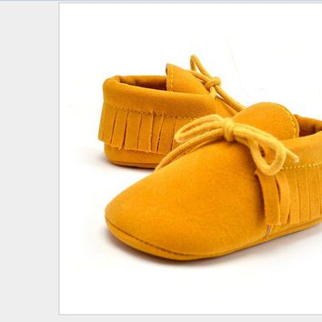 Pudcoco Fashion Newborn Infant Baby Boy Girl Soft Sole Boots Tassel Moccasin Crib Shoes For Baby Kids Shoes