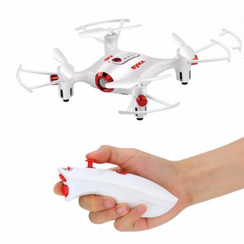 Syma X20 X20S Drone With Single Hand Controller RC Dron Quadcopter RC Helicopter 6-aixs Gyro 2.4G 4CH 3D Rolling Headless Mode