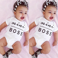 Baby Mini Boss Girls Bodysuit