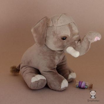 Elephant Stuffed Animal Plush Toy 10""