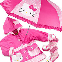 Western Chief Girls Rain Gear, Hello Kitty Polka Dot Rain Jacket