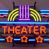 Theater Neon Sign Real Neon Light