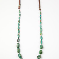 Mountain Mama Leather Necklace