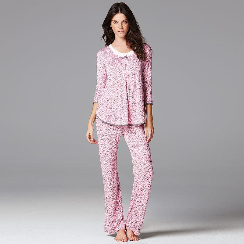 Simply Vera Wang Pajamas Sweet From Kohls