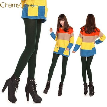 Chamsgend Tights Newly Design Fashion Women Autumn Winter Velvet Pantyhose Female Bottoming 170110 Drop Shipping