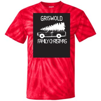 Griswold Family Christmas CD100 100% Cotton Tie Dye T-Shirt