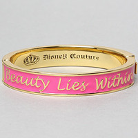 The Beauty Lies Within Bracelet : Disney Couture Jewelry : Karmaloop.com - Global Concrete Culture