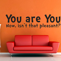 You are You - Dr Suess - Large