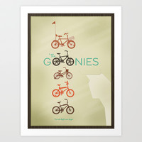 The Goonies Art Print by Preston Brigham