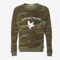 Camp Half-Blood fleece crewneck sweatshirt