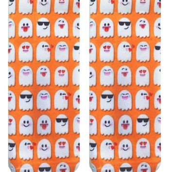 Emoji Ghosts Ankle Socks