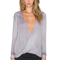 Fawnie Top in Eggplant