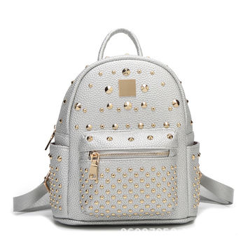 Hot Deal Comfort College On Sale Back To School Casual Stylish Summer Korean Backpack [6582621255]