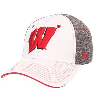 Wisconsin Badgers Ultra Fit Style Hat