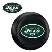 New York Jets NFL Spare Tire Cover and Grille Logo Set (Large)