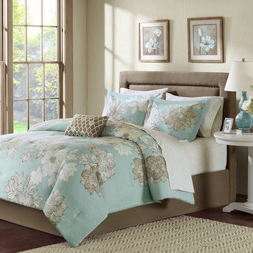 Madison Park Essentials Avalon Comforter Set & Reviews | Wayfair