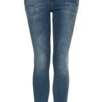 MOTO Vintage Distressed Jamie Jeans - Jeans - Clothing - Topshop USA