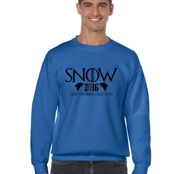 Snow 2016 Make The North Great Again men sweatshirt