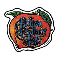 Allman Brothers Men's Embroidered Patch Orange