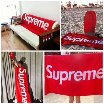 Supreme? Branded Beach Towel/Blanket by Culture District?