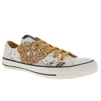 Men's White & Yellow Converse All Star Green day Ox at schuh