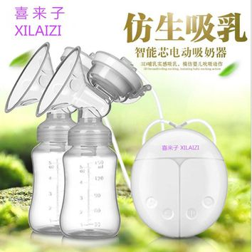 Most Convenient USB Powerful Breast Nipple Suction Electric Breast Pump Breast Pump BPA Free Breast Feeding Pump LD228