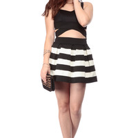 Black And White Date Night Dress