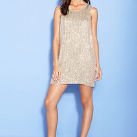 FOREVER 21 Sequin Shift Dress