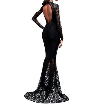 Lace Morticia Dress