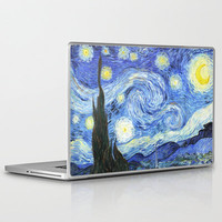 Starry Night by Vincent van Gogh Laptop & iPad Skin by Samantha Ranlet | Society6