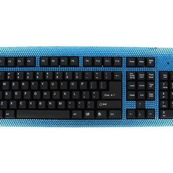 Bright Blue Bling Keyboard | Shop Hobby Lobby