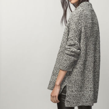 Open Fantasy Cardigan View All From Massimo Dutti