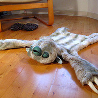 More Marvelous Monster Skin Rugs | materialicious