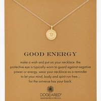 Women's Dogeared 'Reminder - Good Energy' Boxed Pendant Necklace - Gold