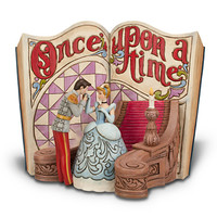 Disney Cinderella Story Book Figurine by Jim Shore | Disney Store