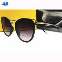 FENDI  trendy women's fashion color film polarized high-quality sunglasses