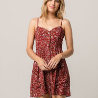 SOCIALITE Boho Floral Ditsy Dress
