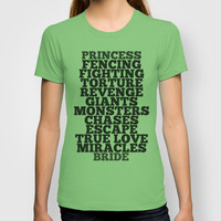 Princess Bride T-shirt by Leah Flores