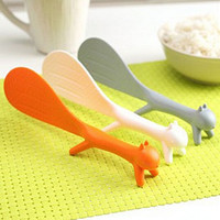 Creative Kitchen Squirrel No Sticky Table Rice Paddle