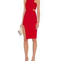 mason by michelle mason Bandeau Dress: Red at INTERMIX | Shop Now | Shop IntermixOnline.com